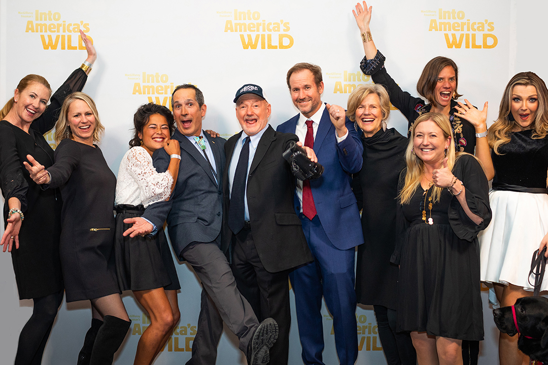 Into America's Wild Premieres at the Smithsonian!