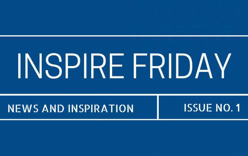 "Introducing the MFF ""Inspire Friday"" Newsletter"