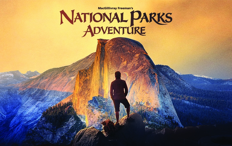 MacGillivray Freeman Films in Association With Brand USA Present The Ultimate Adventure Documentary 'National Parks Adventure' Narrated by Academy Award-Winner Robert Redford